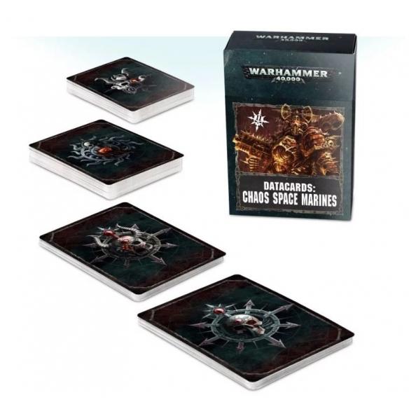 Carte Dati - Chaos Space Marines (ENG) Carte dati