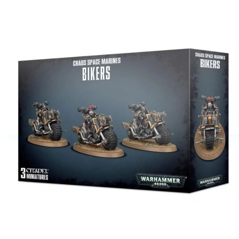 Chaos Space Marines - Bikers Chaos Space Marines