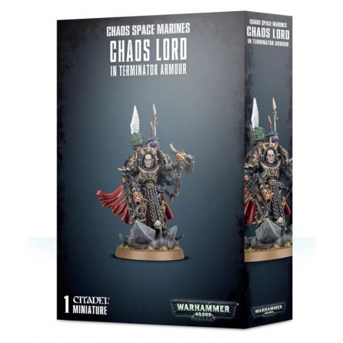 Chaos Space Marines - Terminator Lord Chaos Space Marines