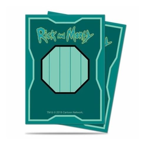 Ultra Pro - Art Scatola Mr. Miguardi Rick and Morty - Standard (65 bustine) Bustine Protettive