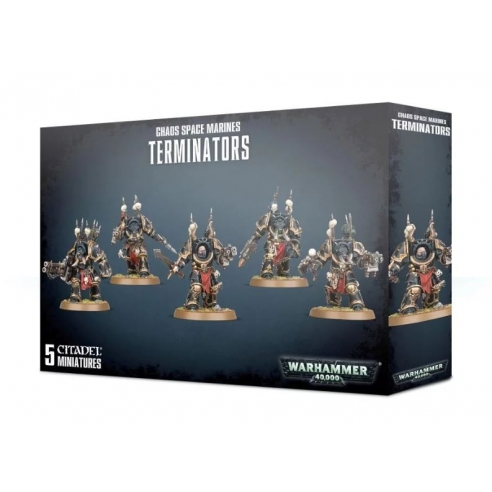 Chaos Space Marines - Terminators Chaos Space Marines