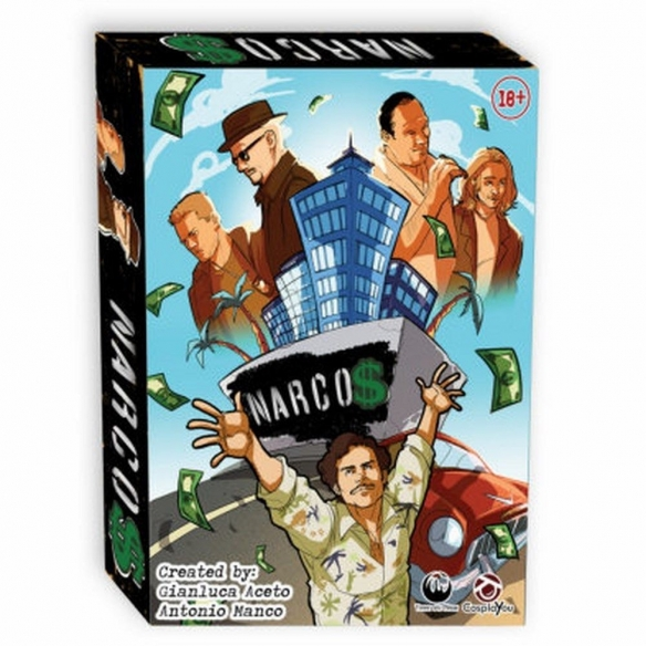 Cosplayou - Narcos Party Games
