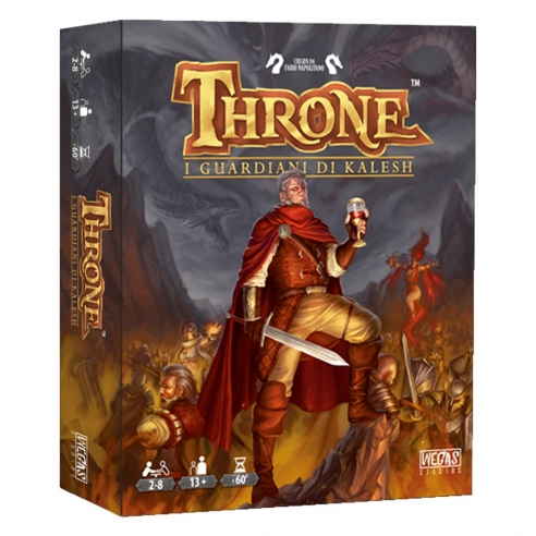 Throne - I Guardiani Di Kalesh Giochi di Carte