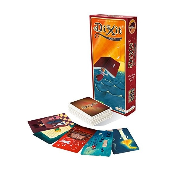 Dixit 2 - Quest (Espansione) Party Games