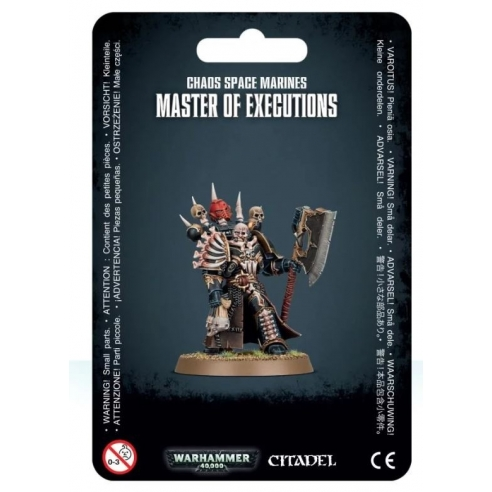 Chaos Space Marines - Master of Executions Chaos Space Marines