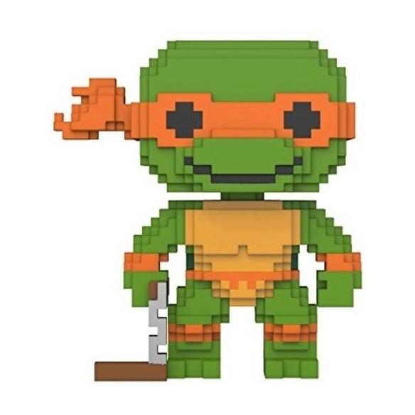 Funko Pop 8 Bit 07 - Michelangelo - TMNT Funko