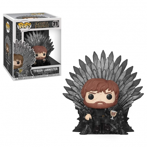 Funko Pop OVERSIZED 71 - Tyrion Lannister Sitting on Throne - Games Of Thrones Funko