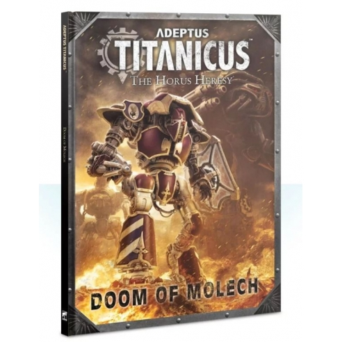 Adeptus Titanicus - Doom Of Molech (ENG) Regolamenti e starter set