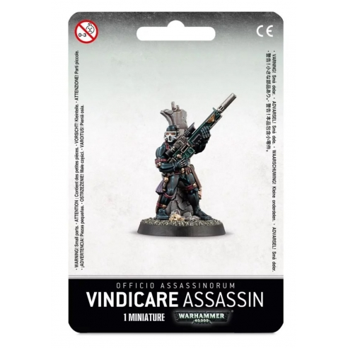 Adeptus Mechanicus - Officio Assassinorum - Vindicare Assassin Adeptus Mechanicus