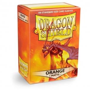 Dragon Shield - Matte Orange - 100 bustine protettive Dragon Shield 7,90€