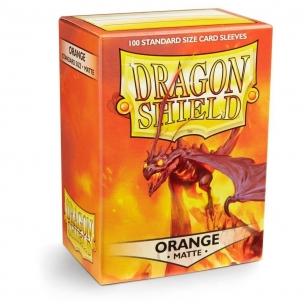 Dragon Shield - Matte Orange - 100 bustine protettive  - Dragon Shield 7,90 €