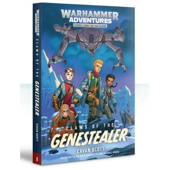 Warped Galaxies Claws Of The Genestealer (ENG) Black Library