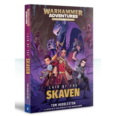 Realm Quest Lair Of The Skaven (ENG) Black Library