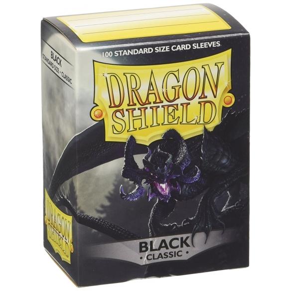 Dragon Shield - Classic Black - Standard (100 bustine) Bustine Protettive