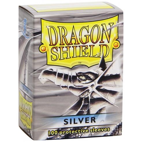 Dragon Shield - Classic Silver - Standard (100 bustine) Bustine Protettive