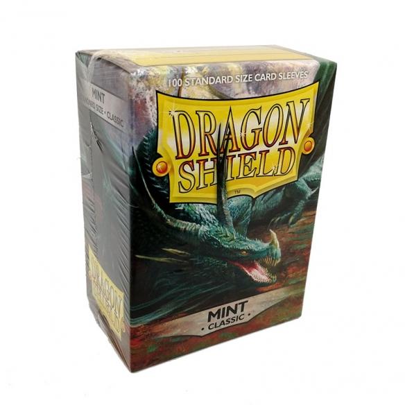 Dragon Shield - Classic Mint - Standard (100 bustine) Bustine Protettive
