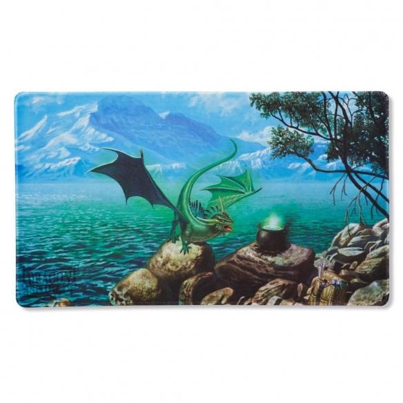 Dragon Shield - Playmat & Life Counter - Bayaga the Familiar Playmat