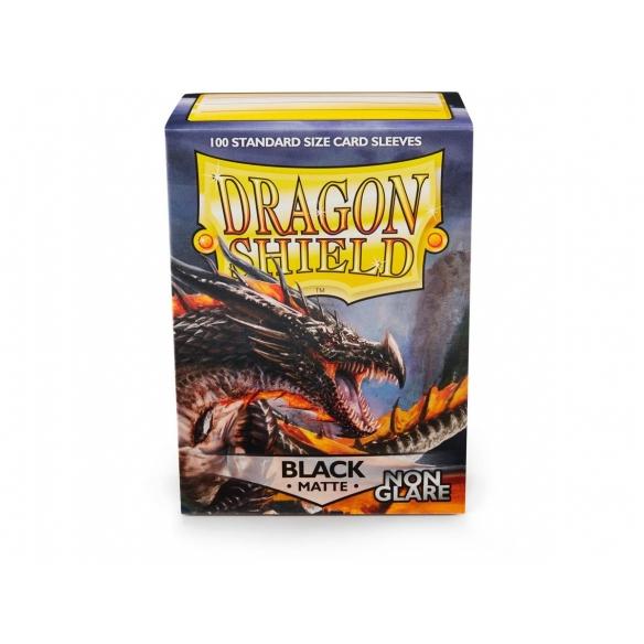 Dragon Shield - Matte Black Non Glare - Standard (100 bustine) Bustine Protettive