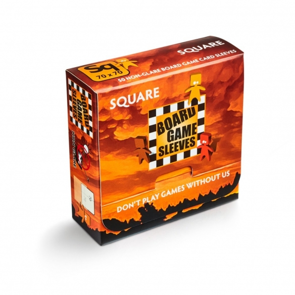 Arcane Tinmen - Square Non Glare (50 bustine) Bustine Protettive