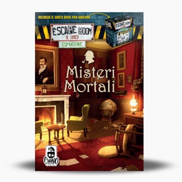 Escape Room - Misteri Mortali (Espansione) Investigativi e Deduttivi