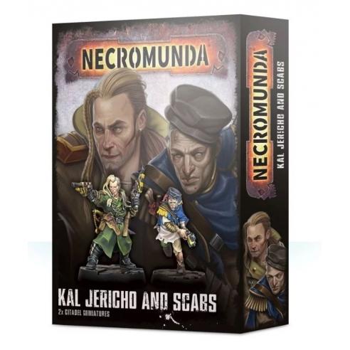 Necromunda - Kal Jericho E Scabs Gang