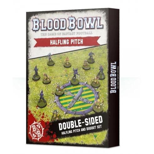 Blood Bowl - Halfling Pitch & Dugout Accessori di Gioco
