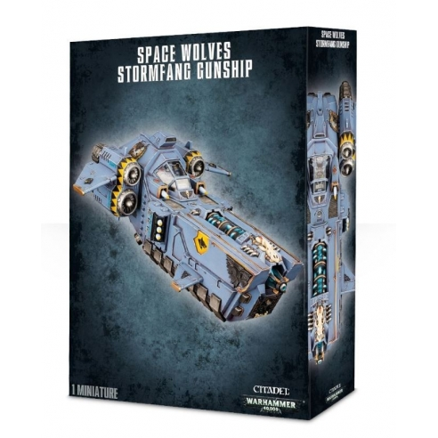 Space Wolves - Stormfang Gunship Space Wolves