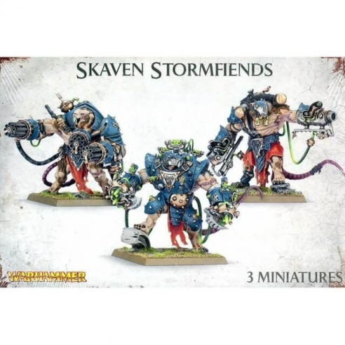 Skaven - Stormfiends Skaven
