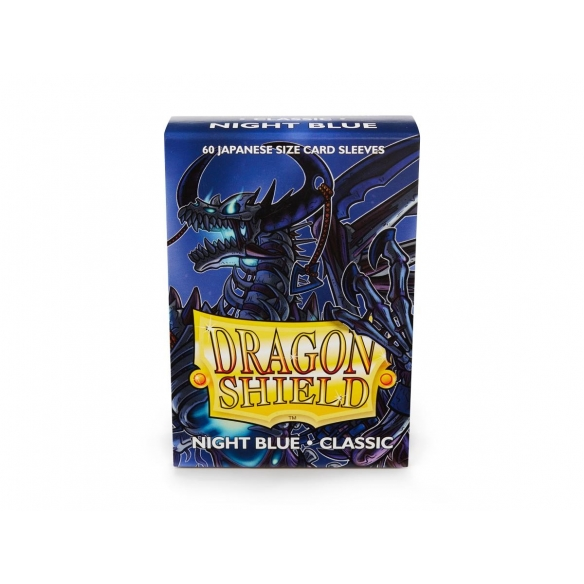 Dragon Shield - Classic Night Blue - Small Japanese (60 bustine) Bustine Protettive