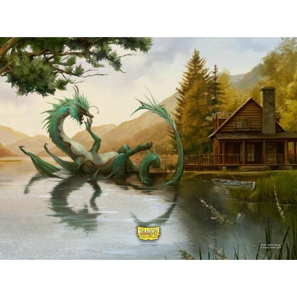 Dragon Shield - Matte Art Summer Dragon - Standard (100 bustine) Bustine Protettive