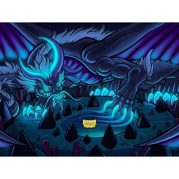 Dragon Shield - Matte Night Blue - Small Japanese (60 bustine) Bustine Protettive