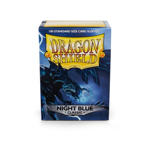 Dragon Shield - Classic Night Blue - Standard (100 bustine) Bustine Protettive