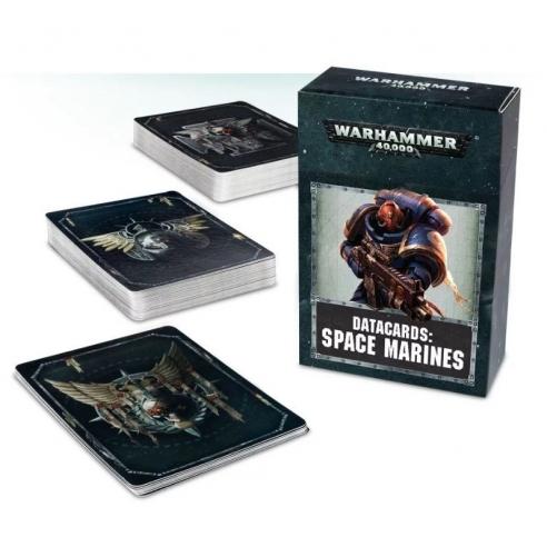 Carte Dati - Adeptus Astartes - Space Marines (ENG) Carte dati
