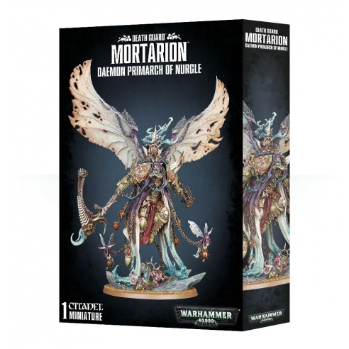 Death Guard - Mortarion, Daemon Primarch of Nurgle 8a Edizione Death Guard