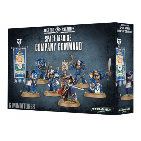 Space Marines - Company Command Space Marines