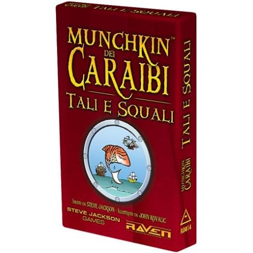 Munchkin - Dei Caraibi - Tali E Squali (Espansione) Party Games