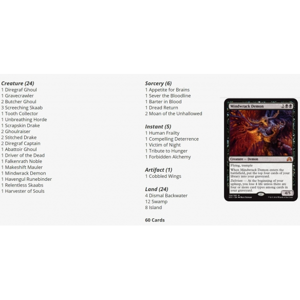 Duel Decks - Blessed Vs Cursed (ENG) Mazzi Precostruiti