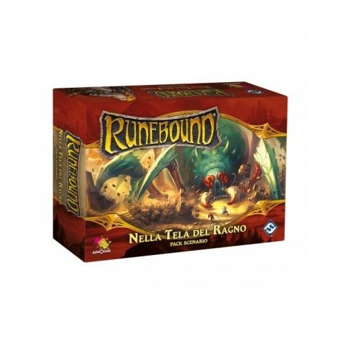 Runebound - Nella Tela Del Ragno (Espansione) Giochi per Esperti