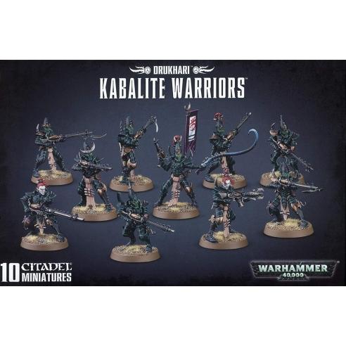 Drukhari - Kabalite Warriors Drukhari
