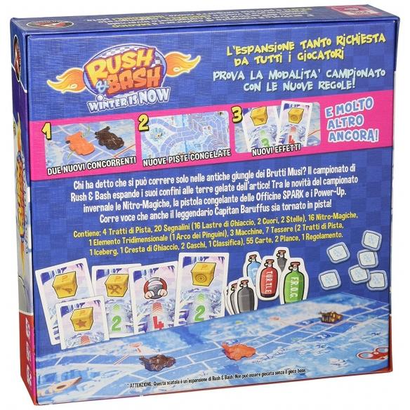 Rush & Bash - Winter Is Now (Espansione) Giochi Semplici e Family Games