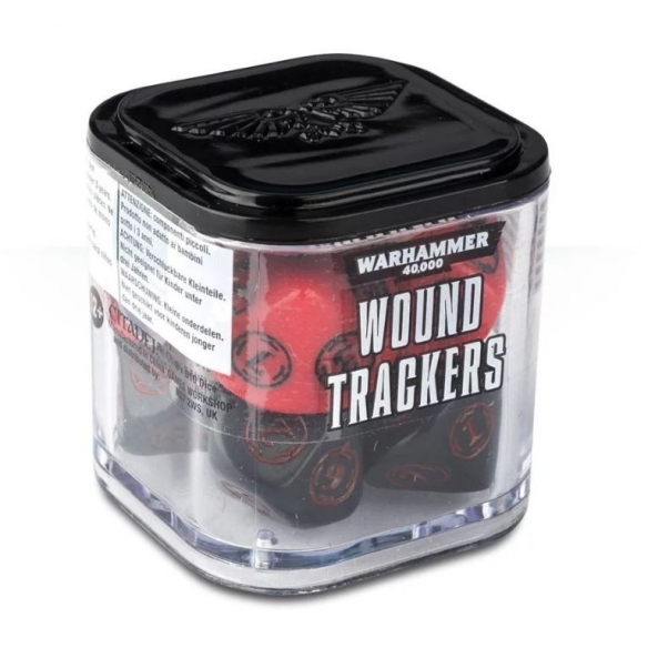 Wound Trackers - Rosso Dadi