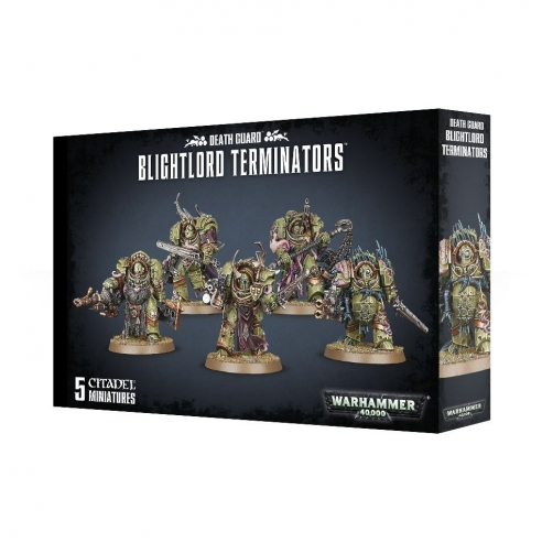 Death Guard - Blightlord Terminators Death Guard