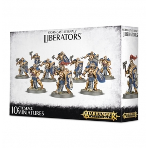 Stormcast Eternal Liberators Warhammer Age of Sigmar 49,00 €