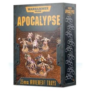 Apocalypse - Basette di movimento da 25mm Apocalypse