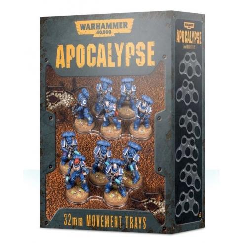 Apocalypse - Basette di movimento da 32mm Apocalypse