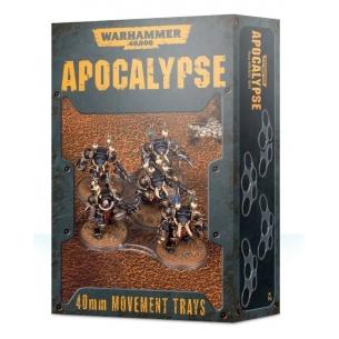 Apocalypse - Basette di movimento da 40mm Apocalypse