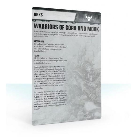 Apocalypse - Datasheet Cards - Orks (ENG) Apocalypse