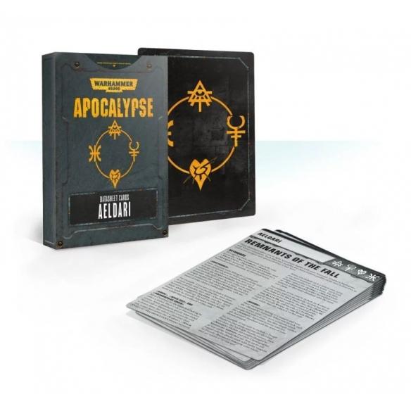 Apocalypse - Datasheet Cards - Aeldari (ENG) Apocalypse