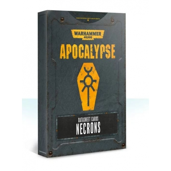 Apocalypse - Datasheet Cards - Necrons (ENG) Apocalypse
