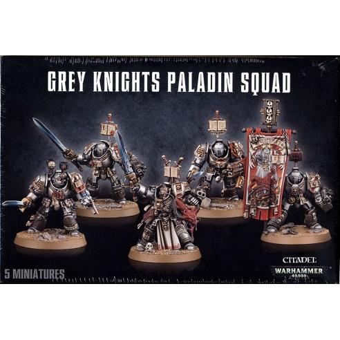 Grey Knights - Paladin Squad Grey Knights